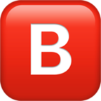Negative Squared Latin Capital Letter B