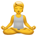 Person in Lotus-Position