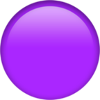 Large Purple Circle