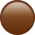 Large Brown Circle