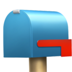 Closed Mailbox with Lowered Flag