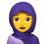 Person With Headscarf