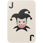 Playing Card Black Joker